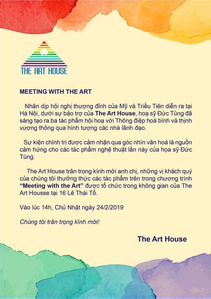"""Chương trình """"Meeting with the Art"""""""